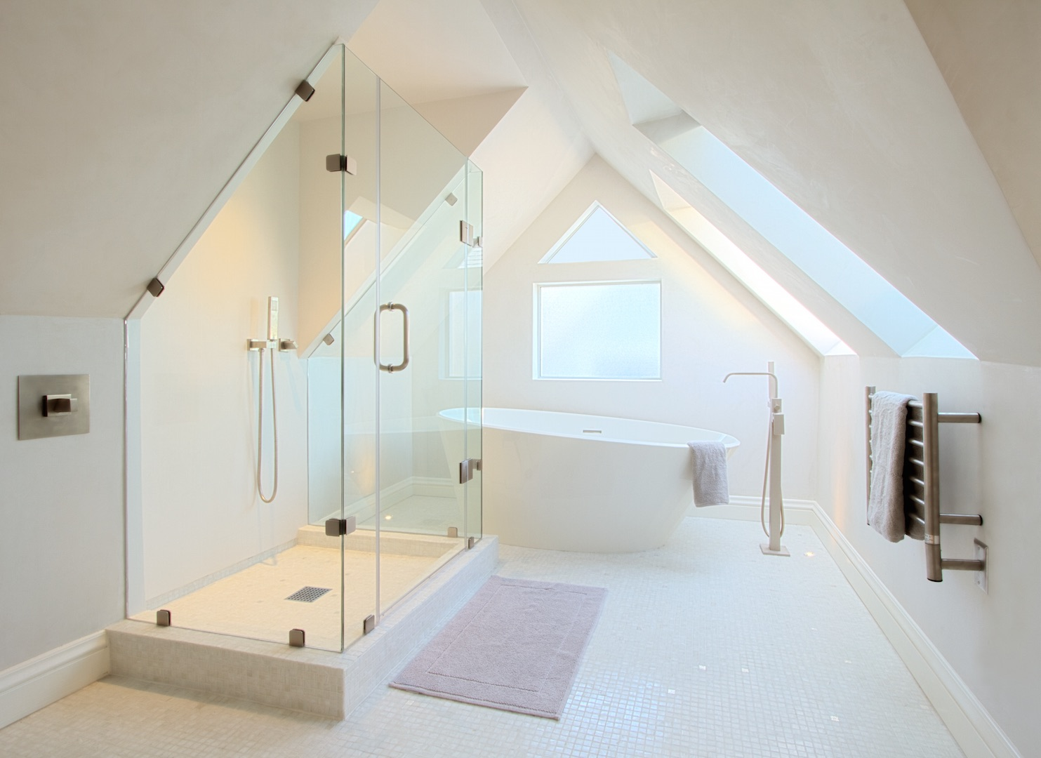 Pacific Heights attic penthouse bathroom